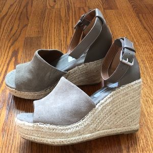 Steve Madded wedges w/ ankle strap